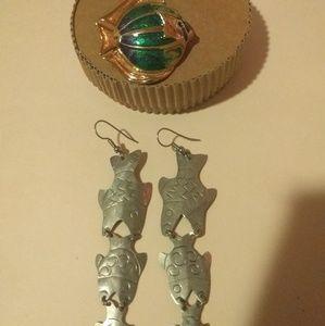 Vintage Style Fish Jewelry